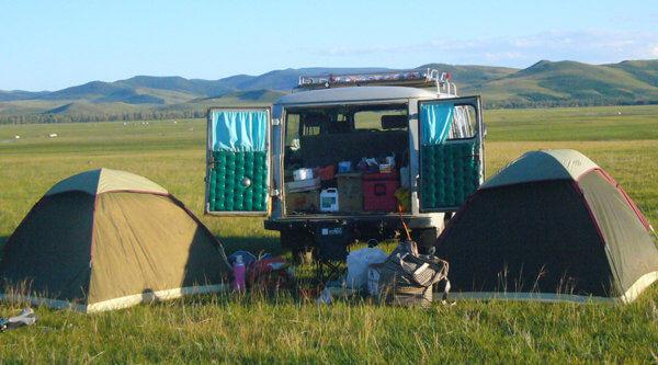 Zeltplatz Mongolei