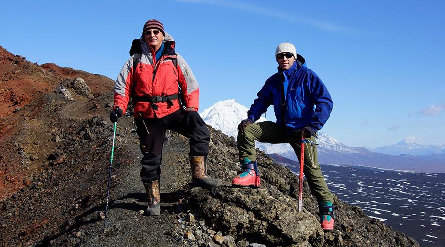 Kamtschatka Berggipfel