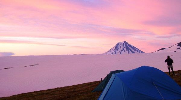 Kamtschatka Berglager