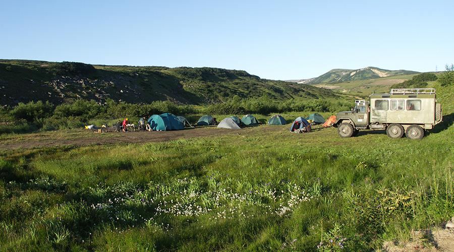 Kamtschatka Zeltlager