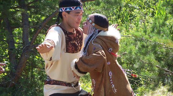 Kamtschatka Eingeborene