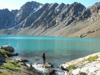 Bergwelt Kirgistan Slider