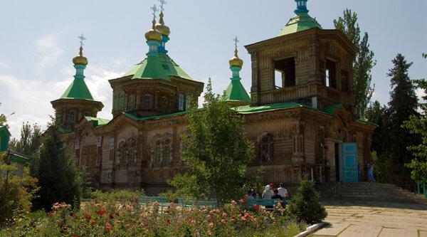 Tempel Kirgistan