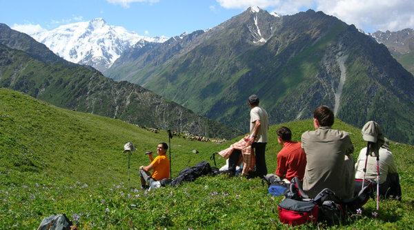 Gebirge Nomaden Kirgistan
