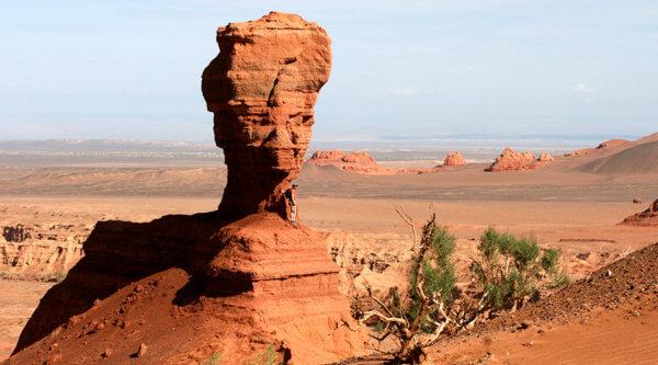 Wüste in der Mongolei