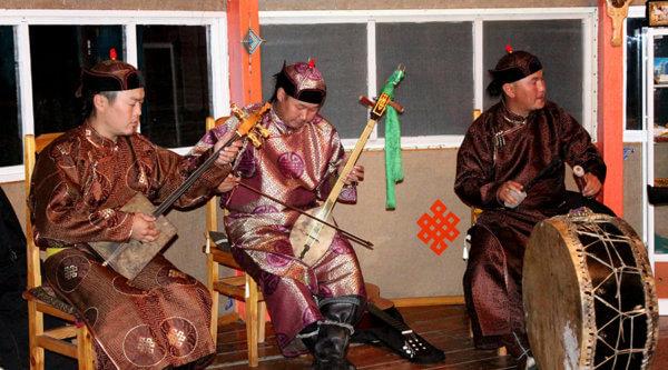 Musiker Sibirien