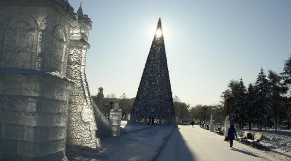 Silvester am Baikalsee