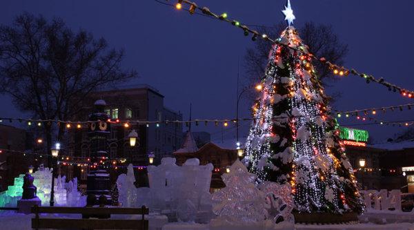 Weihnachten am Baikalsee