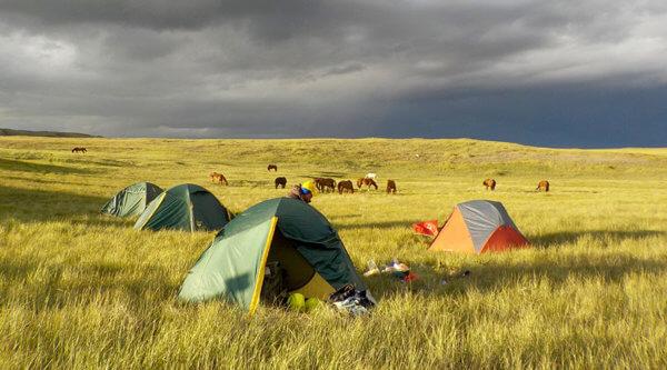 Campingplatz Pferdetour