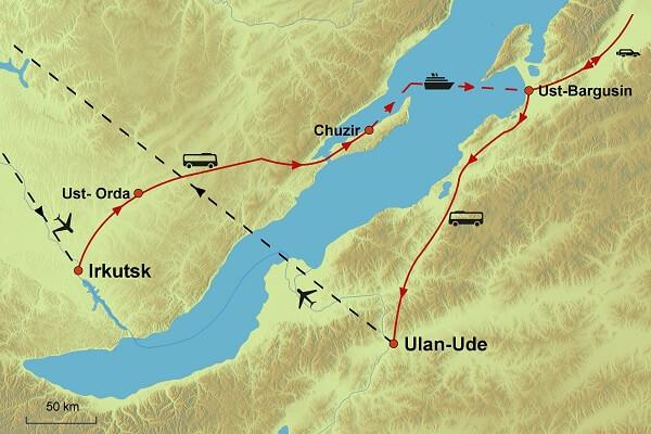 Karte von