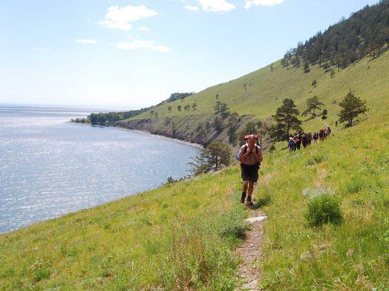 Trekkingroute Baikalsee