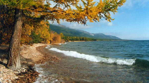 Seeufer Trekking Baikalsee