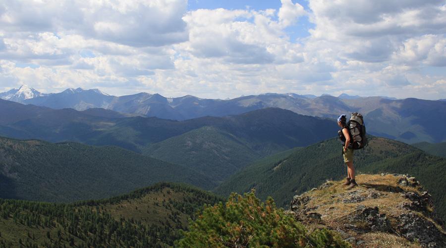 Goldenes Gebirge Gipfel