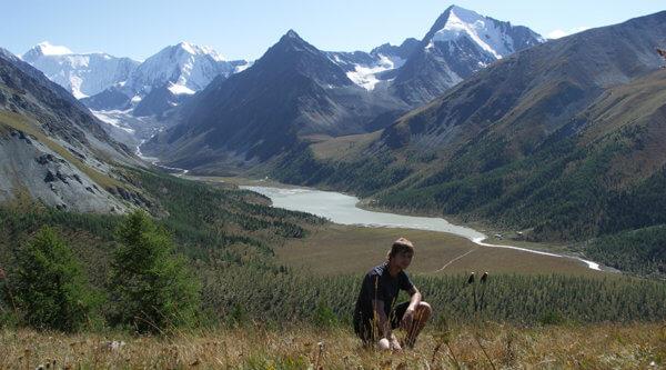 Trekking goldenes Gebirge