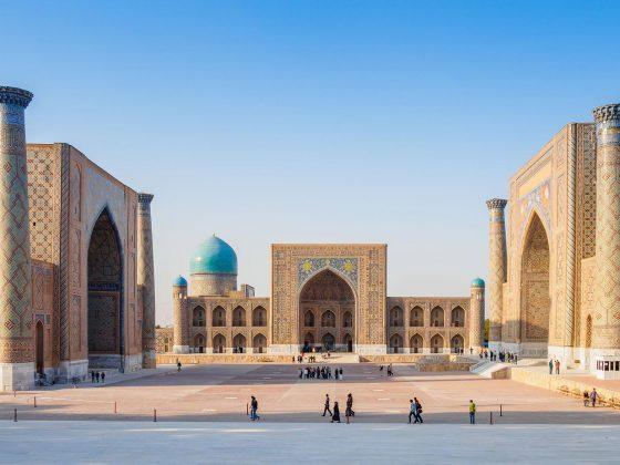 Titelbild Moscheen Usbekistan
