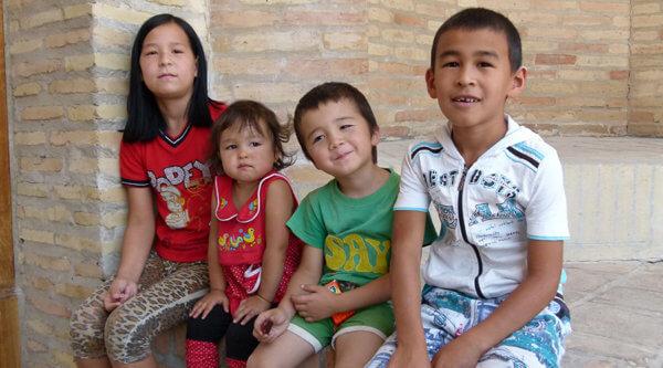Familien Usbekistan