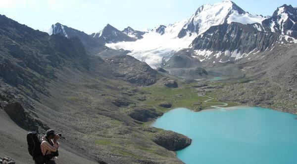 Bergwelt Kirgistan