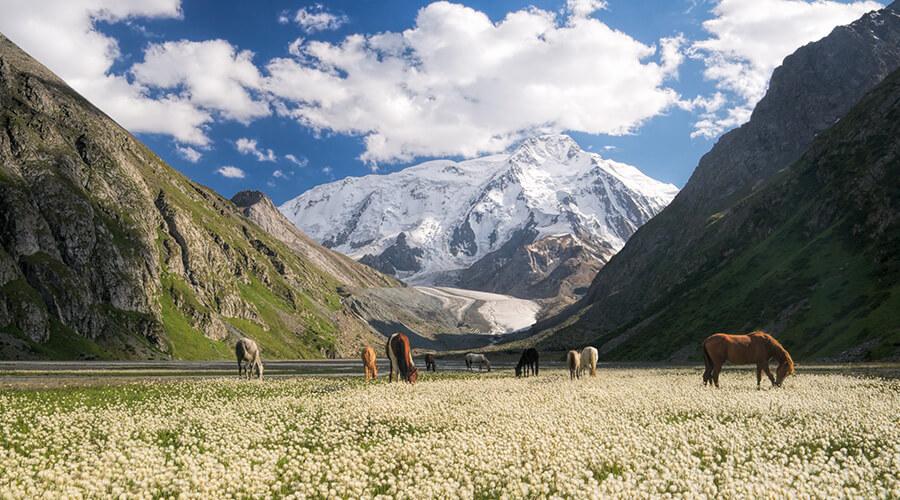 Wanderwelt in Kirgistan