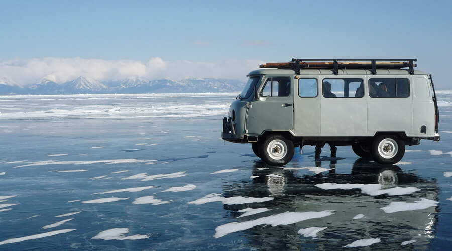 Wildnis Baikalsee