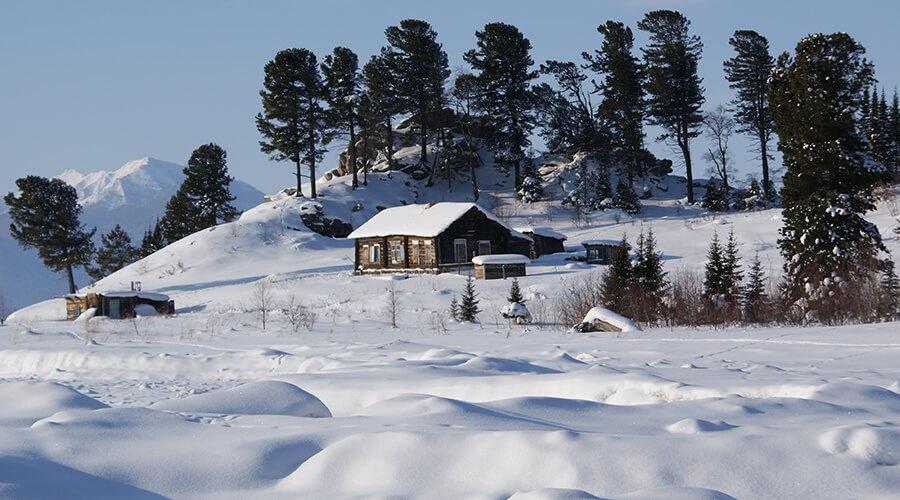 Wildnis bis Baikalsee