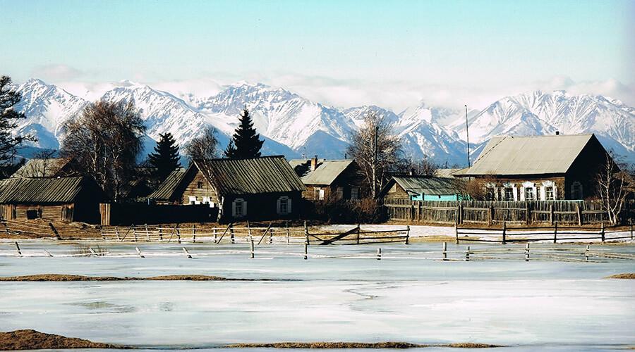 Winter Siedlung am Balkaisee