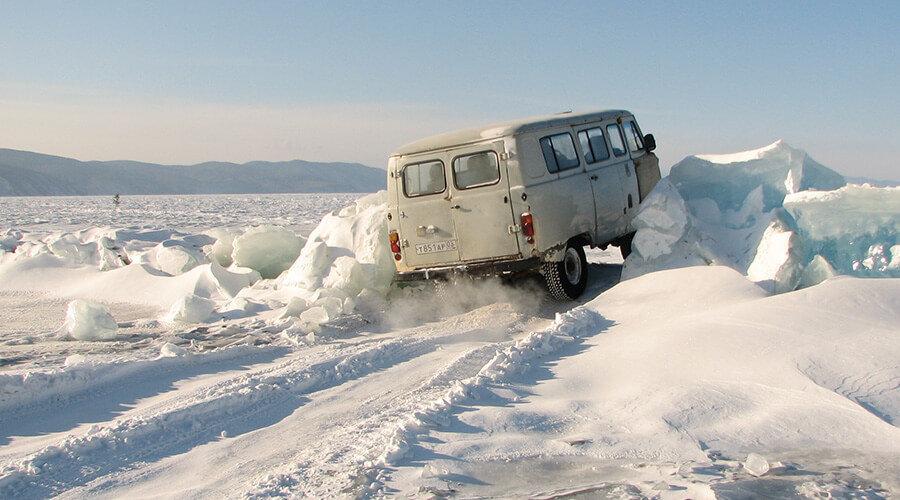 Winter Rendezvous auf dem Baikalsee