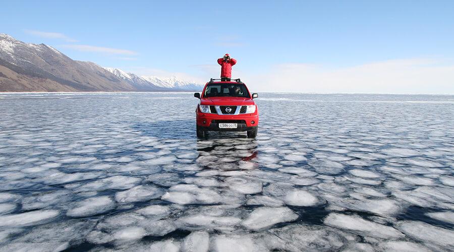 Wintertour Baikalsee