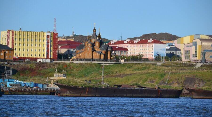 Häuser am Hafen